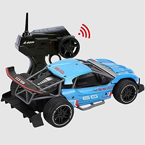 SXLCKJ 1:16 Aleación de Alta Velocidad Offset Car 4 Canales Control Remoto Car 2.4G Control Remoto inalámbrico Juguetes de Carga para niños A (automóvil Inteligente)