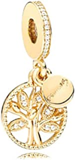 tree of life gold charm