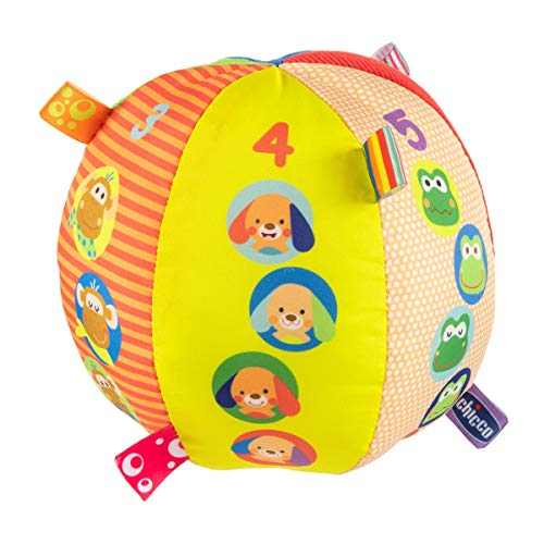 Chicco- Musical Ball Primeros Juguetes (00010058000000)