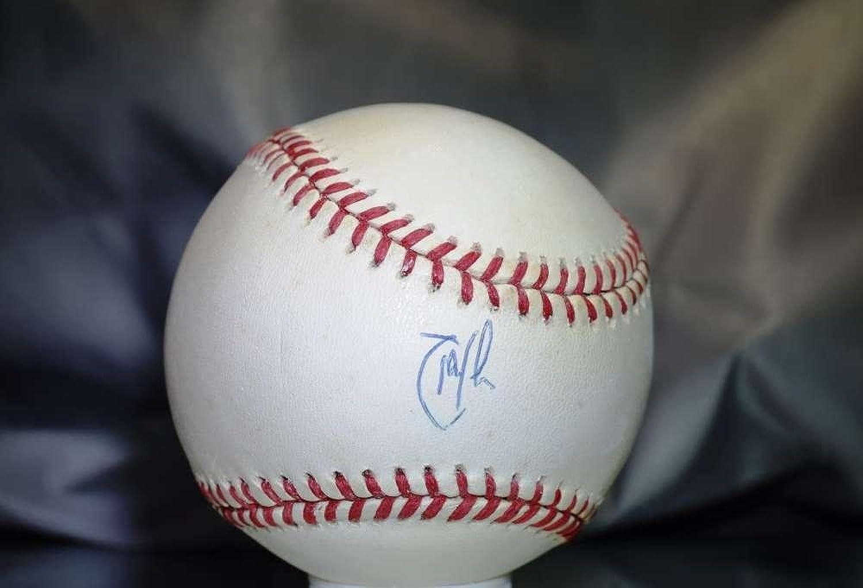 Autographed Randy Johnson Baseball  American League  PSA DNA Certified  Autographed Baseballs