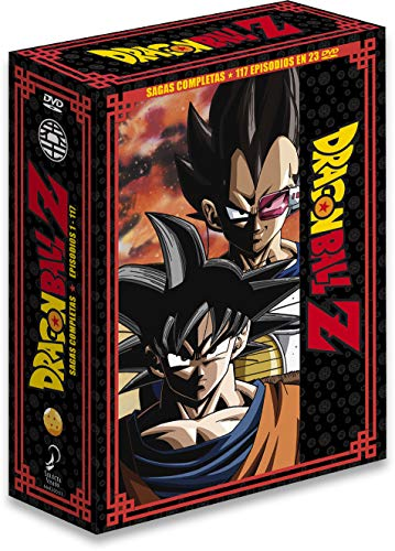 Dragon Ball Z Sagas Completas Box 1 Ep. 1 A 117 [DVD]