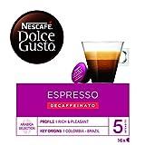 NESCAFÉ Dolce Gusto Café Espresso Descafeinado 16 Cápsulas
