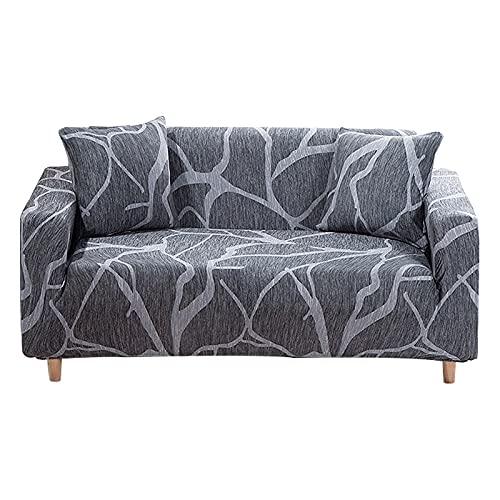 WXQY Funda de sofá elástica,Funda de sofá de Sala de Estar de decoración del hogar,Funda de sofá Modular de Esquina,Funda de sofá de protección para Mascotas A14 de 4 plazas
