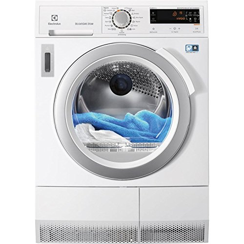 Electrolux EDH3898SDE freestanding Front-load 9kg A++ Bianco tumble dryer - Tumble Dryers (Freestanding, Front-load, Heat pump, Bianco, Buttons, Rotary, Left)