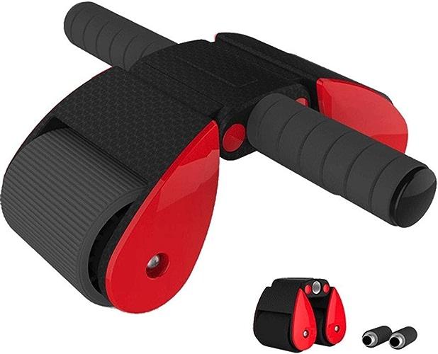 C-Xka Abdomen Abdomen Abdomen Wheel Abdominal Exercise Fitness Equipment Home Hommes Et Femmes Réduire Rouleau du Ventre avec Genouillères