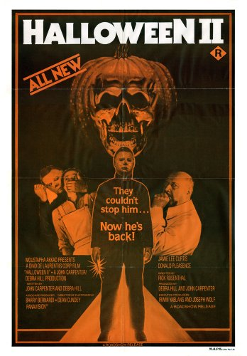 The Gore Store Halloween II (1981) Movie Poster 24x36