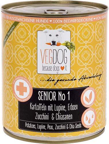 VegDog Senior No1-800g (Menge: 6 je Bestelleinheit)
