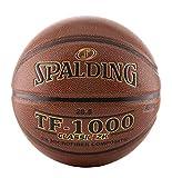 Spalding TF-1000 Classic ZK - Balón de Baloncesto, Color marrón, tamaño...