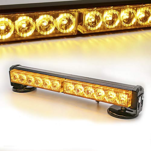 2X 6 LED White Emergency Hazard Warning Flash Strobe Beacon Caution Light Bar#14