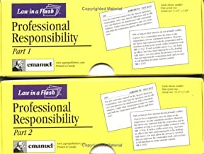 Professional Responsibility (Law in a Flash Cards) (Double Card Set)