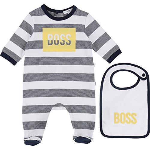 Bébé garçon hugo boss J06149 849 bleu marine doudoune