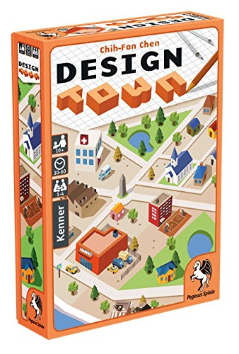 Pegasus Spiele 18283G Design Town - Juego de Mesa