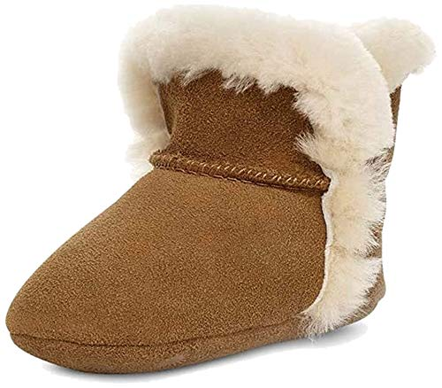 UGG Unisex-Baby Lassen Chestnut Boot - 0/1