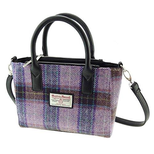BRORA LB1228 Damen Handtasche Harris Tweed klein