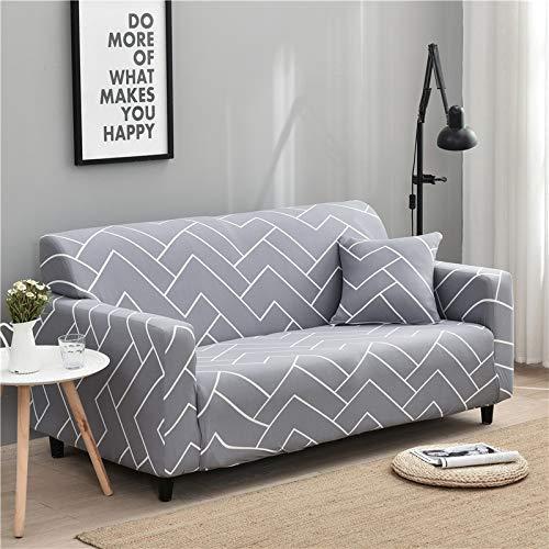 WXQY Sala de Estar Cubierta de sofá elástica con Todo Incluido Cubierta de sofá de celosía elástica Funda de sofá de sofá Inferior A15 2 plazas