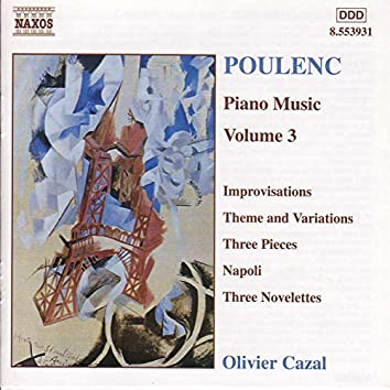 Poulenc: Piano Music, Vol.  3
