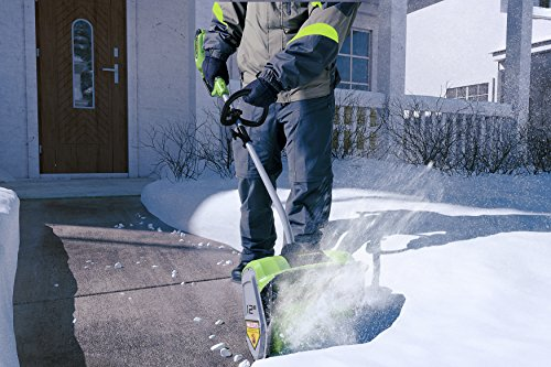 Snowy? Frosty? No problemo with an electric snow shovel 16