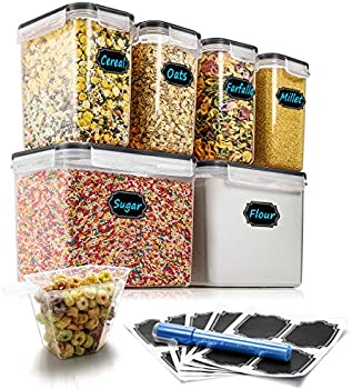 6-Set Airtight Food Storage Containers Set