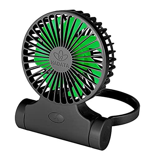 Mini ventilador USB recargable portátil cuello colgante multifunción multifunción ventilador de tres velocidades