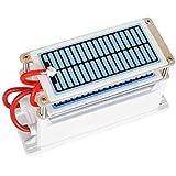GGOODD - Generador de ozono portátil de doble placa integrada para bricolaje y ozonizador para el hogar, purificador de agua de aire esterilizador para eliminar olores y formaldehído