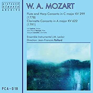 Mozart: Clarinet, Flute & Harp Concertos
