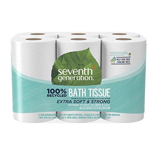 Seventh Generation, Toilet Paper, 12 Rolls