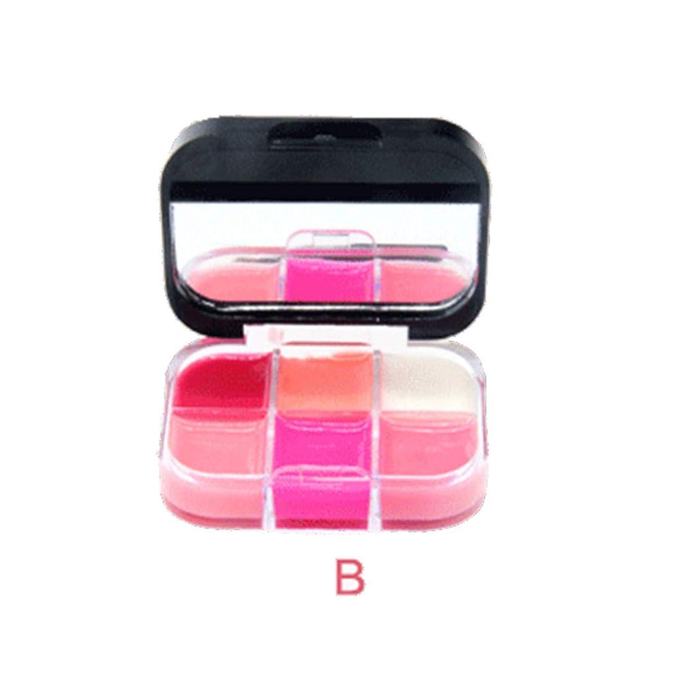 雑多な塩辛い従順美は口紅の保湿剤の唇の光沢の化粧品セットを構成します