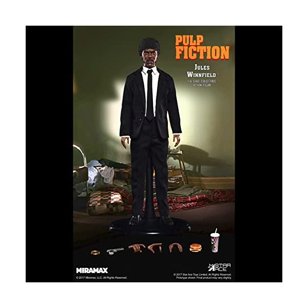 Star Pulp Fiction My Favourite Movie Action Figure 1/6 Jules Winnfield 30 cm 2
