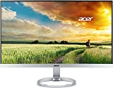 Acer H277Hsmidx Monitor da 27', Display IPS Full HD(1920 x 1080), Frequenza 60Hz, Luminosità 250 cd/m2, Tempo di Risposta 4 ms, Porte VGA, DVI, HDMI, Audio In/Out, Speaker Integrati, Silver