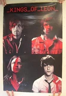 kings of leon red rocks poster