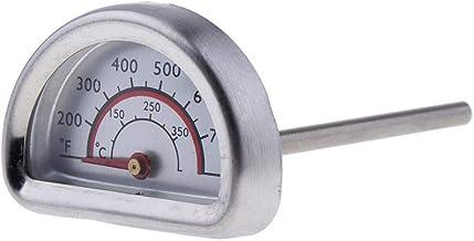 Fenteer Semicírculo Termómetro De Horno Analógico Termómetro De Barbacoa Herramienta De Cocina De Cocina 0 ℃ -350 ℃