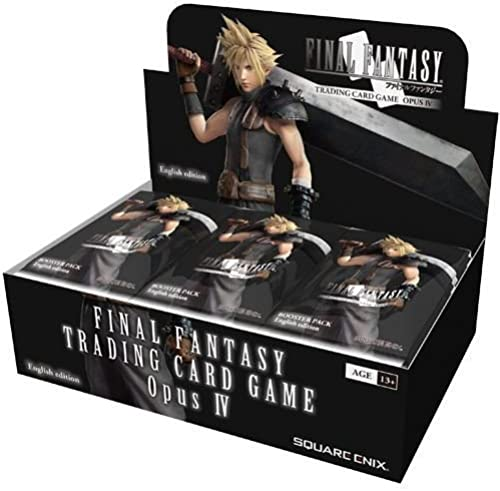 Final Fantasy TCG Opus 4 Booster Box (36 Packs) [UK-Import]