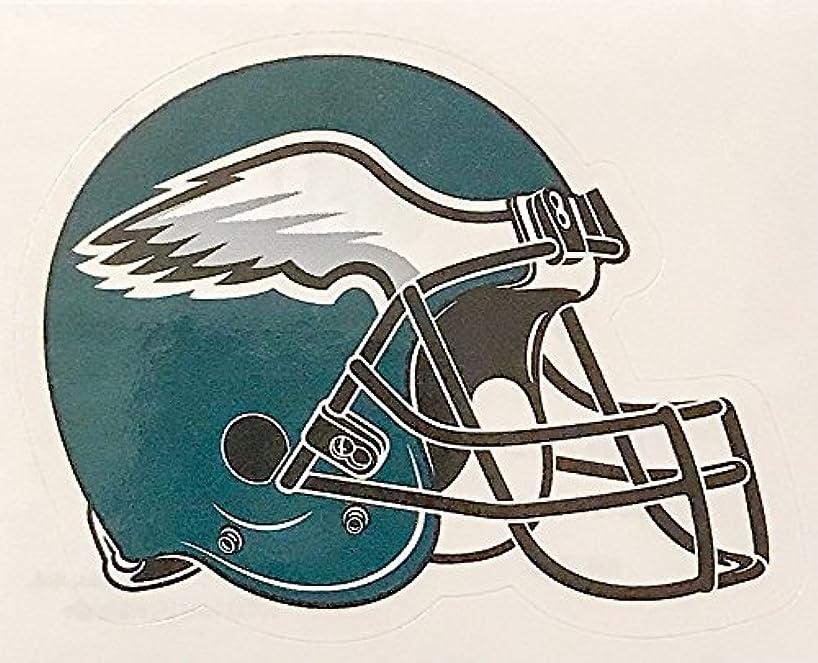 aa g 4 Pack Philadelphia Eagles Die Cut Stickers NFL Football Helmet Logo Sticker Team Set Philly The Birds