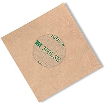 Pack of 100 3M 9495LE CIRCLE-2.500-100 Adhesive Transfer Tape 2.500 Diameter Circle 3M 9495LE CIRCLE-2.500-100