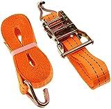 NYZXH Fácil de transportar y duradería corbata de carga 5m * 38mm Tensión de automóvil Cuerda de cuerda Correa de correa de trinquete fuerte Bolsa de equipaje Bolsa de equipaje Taleza de carga con heb