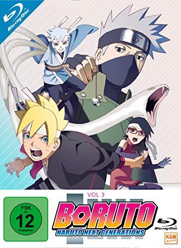 Boruto: Naruto Next Generations - Volume 3 (Episode 33-50) [Blu-ray]