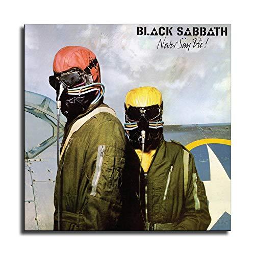 Black Sabbath (Never Say Die) - Lienzo decorativo para pared, diseño moderno