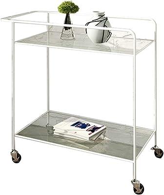 Amazon.com: PENGJIE - Mesa auxiliar industrial para servir ...