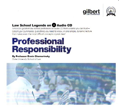Law School Legends Professional Responsibility (Law School Legends Audio Series)