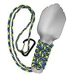Hiking Trowel Backpacking Ultralight Shovel, 0.6 oz Camping Trowel, Light Duty Aluminum Shovel for...