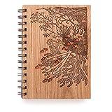 Coral Reef Laser Cut Wood Journal (Notebook/Birthday Gift/Gratitude Journal/Handmade/Christmas Gift)