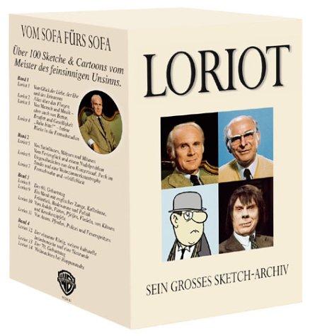 Loriot - Sein großes Sketch-Archiv (4 VHS-Cassetten)