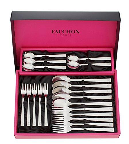 FAUCHON (フォション) 「 デザート ディナー 」 スプーン フォーク 20ピース カトラリーセット FA20-D20
