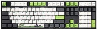 XHNMAO Varmilo Chinese Mother-of-Pearl Flower Mechanical Keyboard Office Keyboard Gaming Keyboard Computer Keyboard PBT Ke...