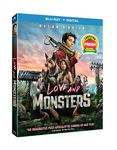 Love and Monsters Blu-ray + Digital for 9.96