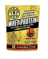 ゴールドジム(GOLD'S GYM) ホエイプロテイン チョコレート風味 1,500g