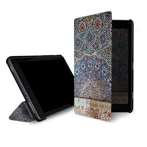 caseable Fire 7 - custodia (tablet 7 pollici, settima generazione - 2017) la custodia standing e leggera per il nuovo tablet Amazon Fire 7 con l'elegantissimo design: Tropic Fun