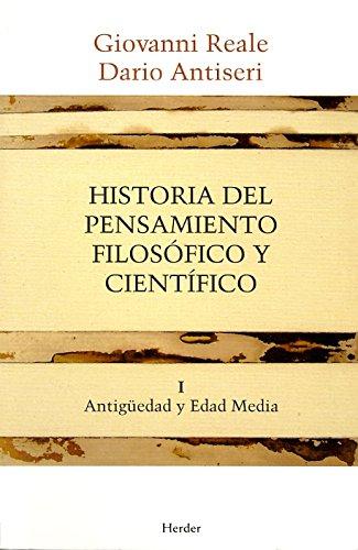 Historia del pensamiento filosófico y científico I: Antigüedad y Edad Media