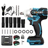 Hotwin Cordless Brushless Impact Wrench 21V 520Nm 1/2' Drive Utility Power Impact Wrench