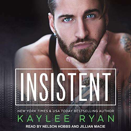 Insistent audiobook cover art